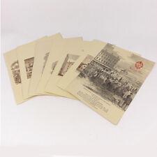 "Lot of 7 Vintage The Copley- Plaza Boton Restaurant Dining Paper Menu 12"""