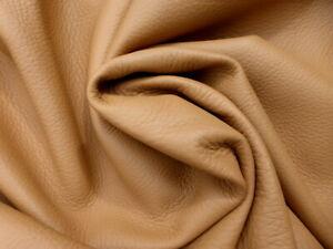 deerskin leather hide XL New Zealand Deer Cognac grainy texture Flawless!