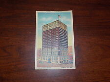 RARE OLD VINTAGE POSTCARD HOTEL CONTINENTAL 22 STORIES SOLID COMFORT