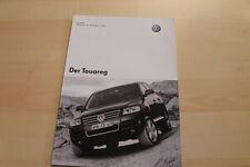 82852) VW Touareg - Preise & Extras - Prospekt 06/2003