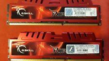 G.Skill Ripjaws-X Total Memory 8Gb (1600MHz, 240-pin) DIMM DDR3 (2x4GB)