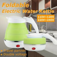 Collapsible Foldable Travel Silicone Electric Kettle Boiled Water Teakettle