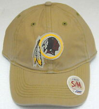 NFL Washington Redskins Tan Flex Fitted Slouch Hat by Reebok Size S m f00b54675