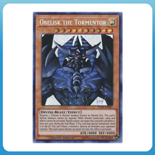 Obelisk the Tormentor - TN19-EN007 - Prismatic Secret Rare - YUGIOH