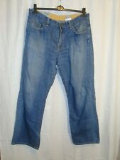 VTG TIMBERLAND  men's zip fly blue jeans W36 great co COOL