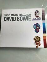 David Bowie - The Platinum Collection -  3 CD Box Set