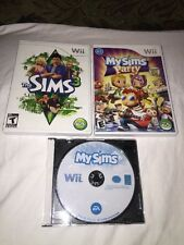 3 Pack of Sims Games: My Sims-The Sims 3-My Sims Party-TESTED! *FUN PACK*