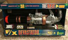 Tootsie Toy F/X Devastator 350 Round Electronic Cap Gun Sounds Motion 1997 RARE
