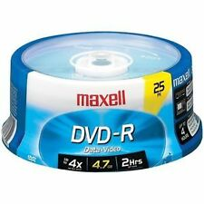 Maxell CD, DVD and Blu-ray Discs