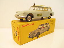 FRENCH DINKY TOYS 556 CITROEN ID19 CARRIER AMBULANCE MIB 9 EN BOITE SO NICEL@@K
