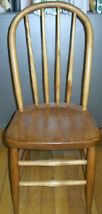 Vintage Child's Bentwood Farmhouse Chair