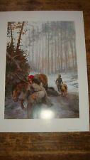 BD Affiche de Thorgal Rosinski éditée en 1995