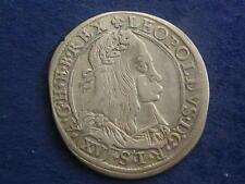 XV ( 15 ) Kreuzer 1663 Graz Leopold I. GRA 63.1.2  W/18/491