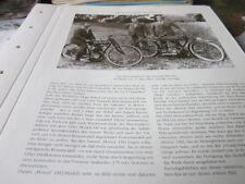 Motorrad Archiv Prominenz 4105 Puch Doppelkolben H. Höbel G Marcellino Linninger