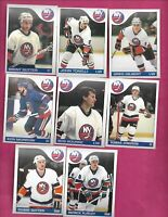 1985-86 OPC NEW YORK ISLANDERS  EX-MT  CARD LOT (INV# C2025)