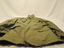 Vintage Seabees M-65 Military Field Jacket Size Small Reg US Navy USN w/ liner