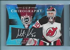 MARTIN BRODEUR 2007/08 THE CUP CHIROGRAPHY SIGNATURE AUTOGTRAPH AUTO /50
