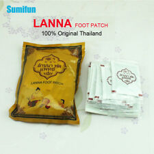 10Pcs Lanna Detox Foot Patch Detoxify Toxins Adhesive Keeping Fit Plaster C122