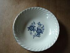 Vintage Enoch Wedgwood (Tunstall) Ltd Bleu Royal IRONSTONE Floral Pin Dish