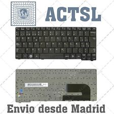 Spanish keyboard SAMSUNG NP N148 N150 N145 N143 serie TECLADO black-white bottom