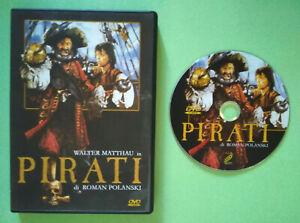 DVD Film Ita Avventura PIRATI Walter Matthau Roman Polanski ex nolo no vhs (H1)