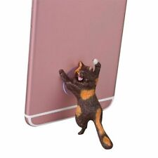 Phone Holder Cute Cat Mobile Phone Support Stand Holder Sucker Suction Desk