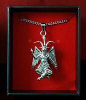 316L Satanic Baphomet Goat of Mendes V2 Necklace Stainless Steel