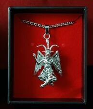 Church of Satan BAPHOMET Pendant Necklace - Stainless Steel