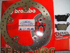DISCO DE FRENO TRASERO BREMBO 68B407C0 PASTILLAS 07BB0235 HUSQVARNA DESNUDA ABS