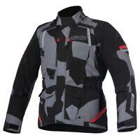 Alpinestars Andes V2 Drystar Textile Motorcycle Jacket - Black Camo Red