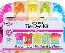 Tulip - TIE DIY - NEON One Step Tie dye kit in Neon - Dye for Clothes in NEON