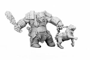 1 x FIRE GIANT HUNTSMAN - BONES REAPER miniature rpg jdr geant feu chien 77457
