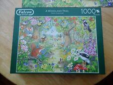 "Falcon 1000 Piece Jigsaw Puzzle "" A Woodland Trail"""
