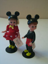 McDonald's Madame Alexander Mickey Mouse Wendy as Minnie & Mickey Boy Doll - 5""