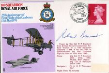 WW2 RAF fighter bomber ace & Canberra test pilot BEAMONT DFC signed cover