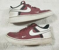 Nike Shoes Size Youth 4 Air Force 1 Red White Black CL1756