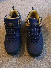 Mens Hiking Boots Navy Lace Up UK7 EU42