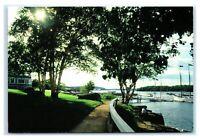 Postcard The Shore Path at Bar Harbor, Maine ME K5