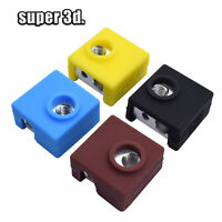 5pcs MK7/MK8/mk9 Silicone Sock Cover + heating block for cr10/10s /ender 3 pro