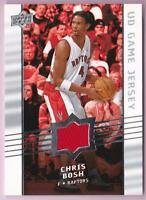 CHRIS BOSH 2008-09 UPPER DECK UD GAME JERSEY RAPTORS