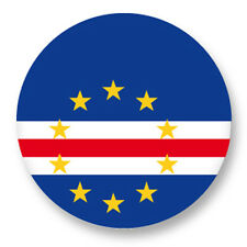 "Pin Button Badge Ø25mm 1"" Drapeau Flag Cap Vert Afrique Praia"
