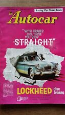 Autocar Magazine Test Bentley S.2 Continental Racing Car Show Guide 30/12/60