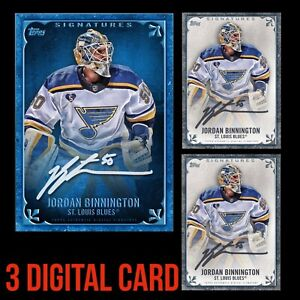 JORDAN BINNINGTON TOPPS SIGNATURE SERIES TEAM COLOR +2 BASE SKATE DIGITAL CARD
