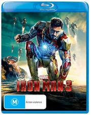 Iron Man 3  - BLU-RAY - NEW Region B
