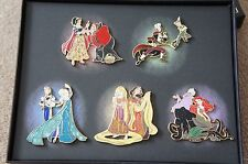 D23 EXPO Disney Store Fairytale Designer Limited Edition HEROES VILLAINS Pin HTF