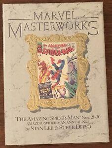 Marvel Masterworks The Amazing Spider-Man Vol 10 #21-30 New Shrinkwrapped Lee HC