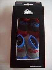 Quiksilver Crib Shoes Booties Socks 2 Pk Sz 0-6 Mos Infant Assorted Colors NIB
