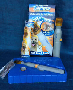 PEDI-PAWS Pet Nail Trimmers For Dogs & Cats (lot of 2)