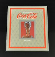 Coca Cola Coke Chronicle from USA 1980's - The Chronicle of Coca-Cola since 1886