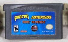 GAMEBOY ADVANCE Pong Asteroids - Yars' Revenge